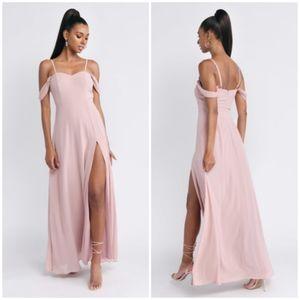 Tobi Pink Blush Maxi Dress Large